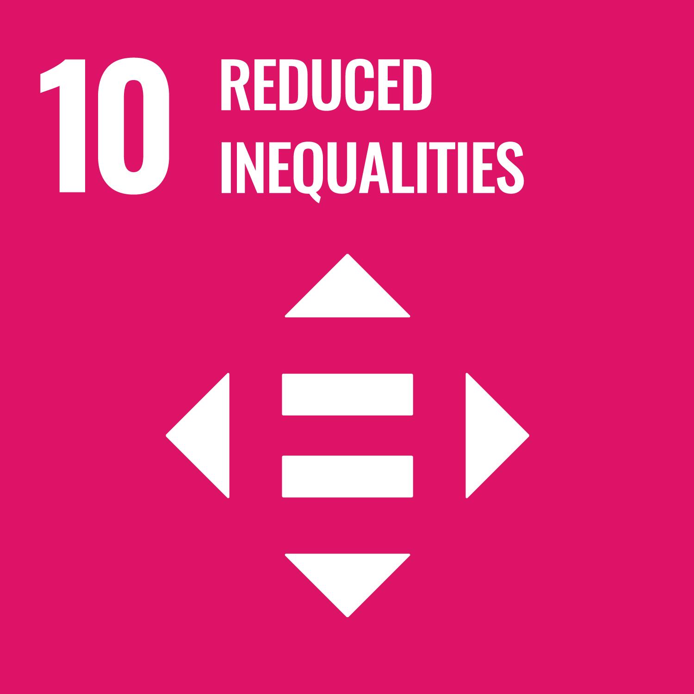 10人や国の不平等をなくそう