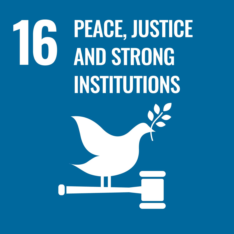 16平和と公正をすべての人に
